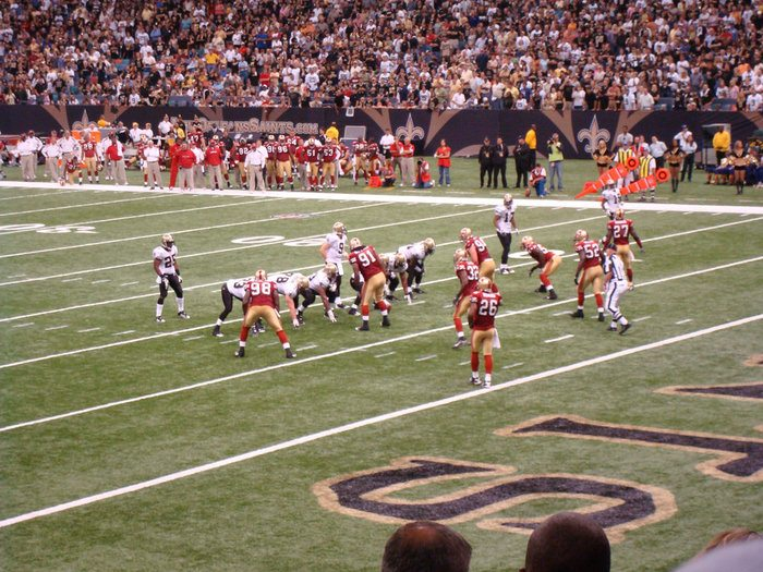 Los Angeles Rams vs. San Francisco 49ers Parking