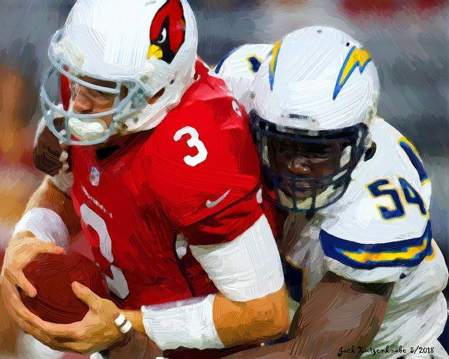 LA Chargers vs Arizona Cardinals Parking
