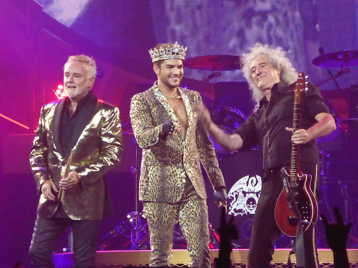 Queen with Adam Lambert Parking