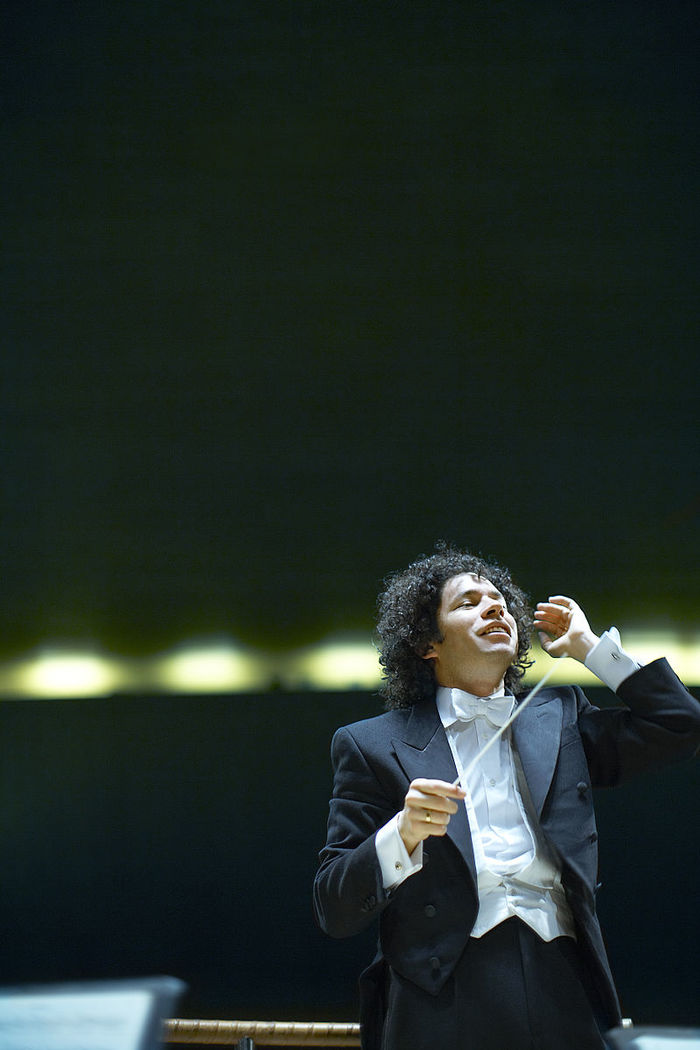 Beethoven's Ninth with Dudamel Parking