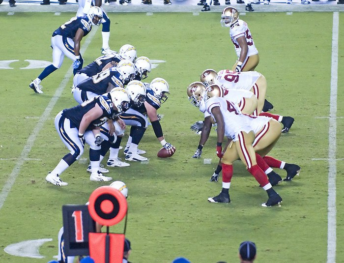 Los Angeles Chargers vs. San Francisco 49ers Parking