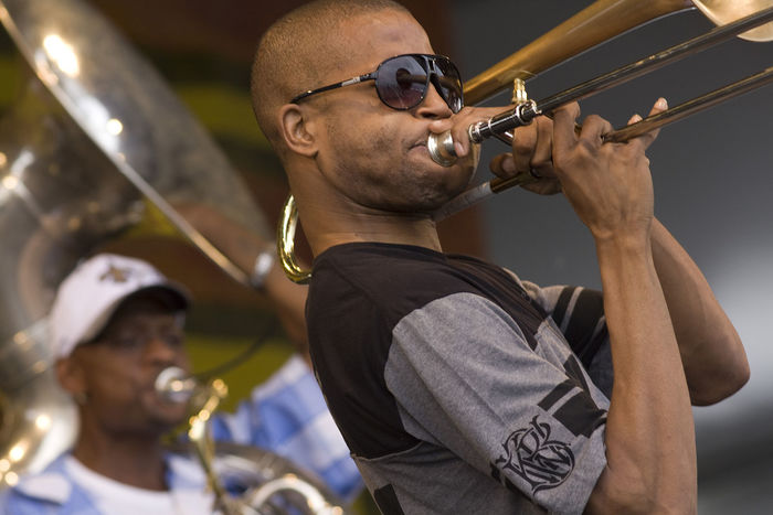 Trombone Shorty and Orleans Avenue • St. Paul and The Broken Bones Parking