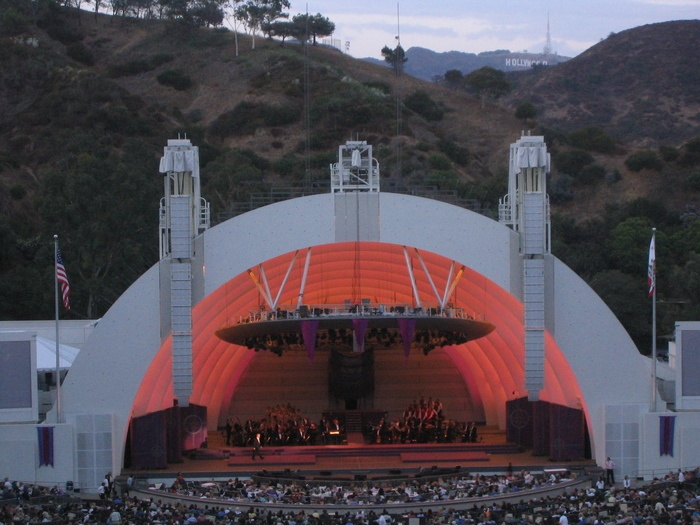 Hollywood Bowl Parking