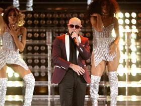 K-Love Live with Pitbull and Juanes and Enrique Iglesias and Ricardo Montaner Parking