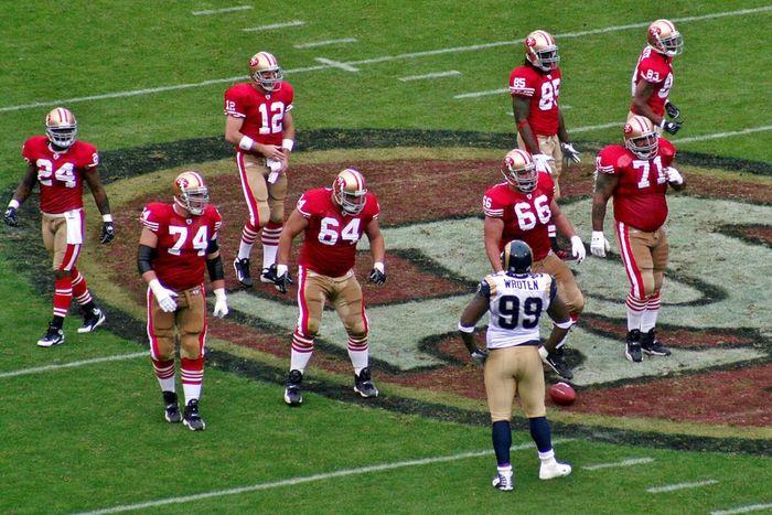 LA Rams vs San Francisco 49ers Parking