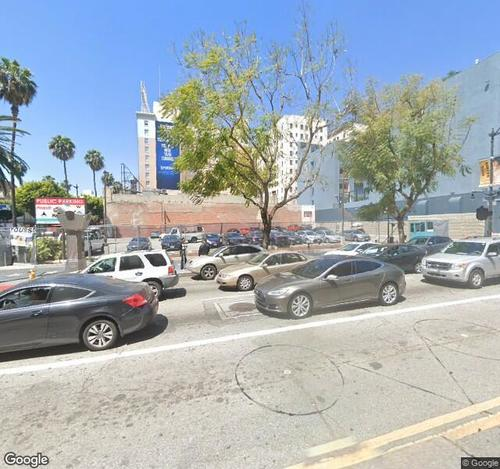 Hollywood/Vine Parking Lot