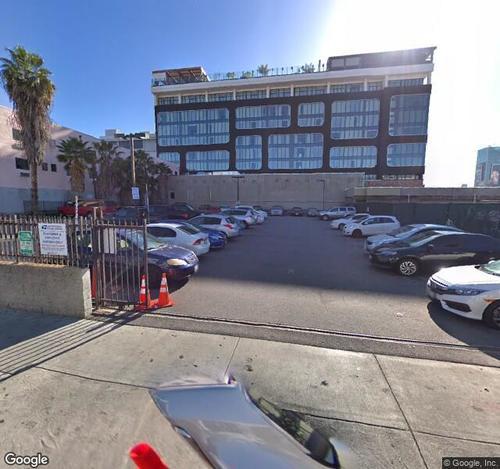 1610 Wilcox Parking Lot