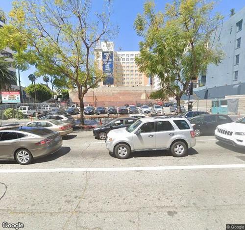 Hollywood/Vine Parking Lot